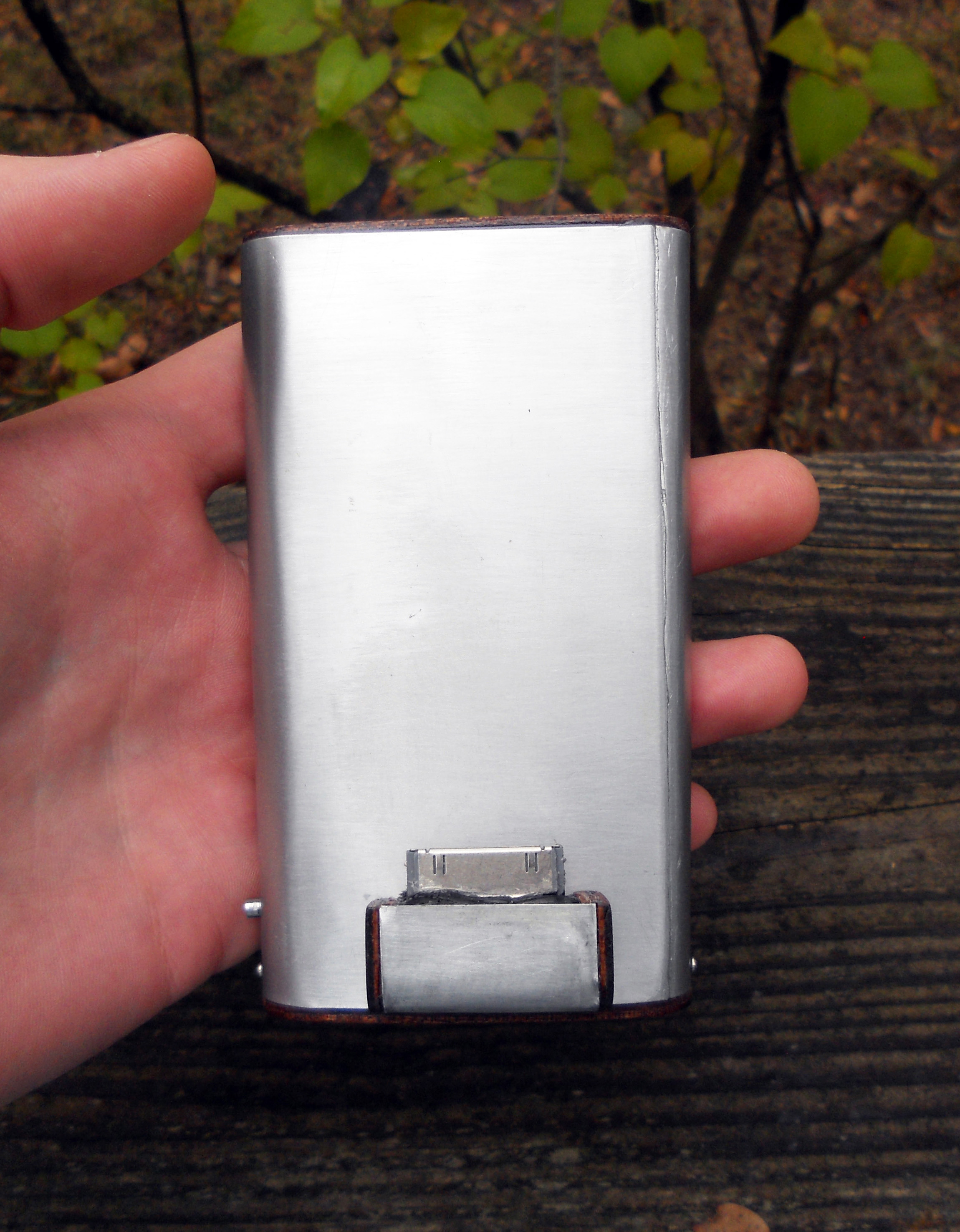 Retro Rechargeable USB Booster