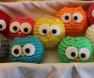 Crochet Baby Owls