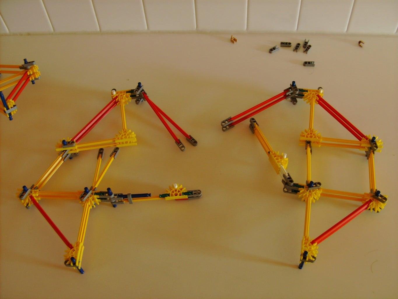 Build Second Half of Leg