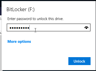 How to Unlock Your Drive.