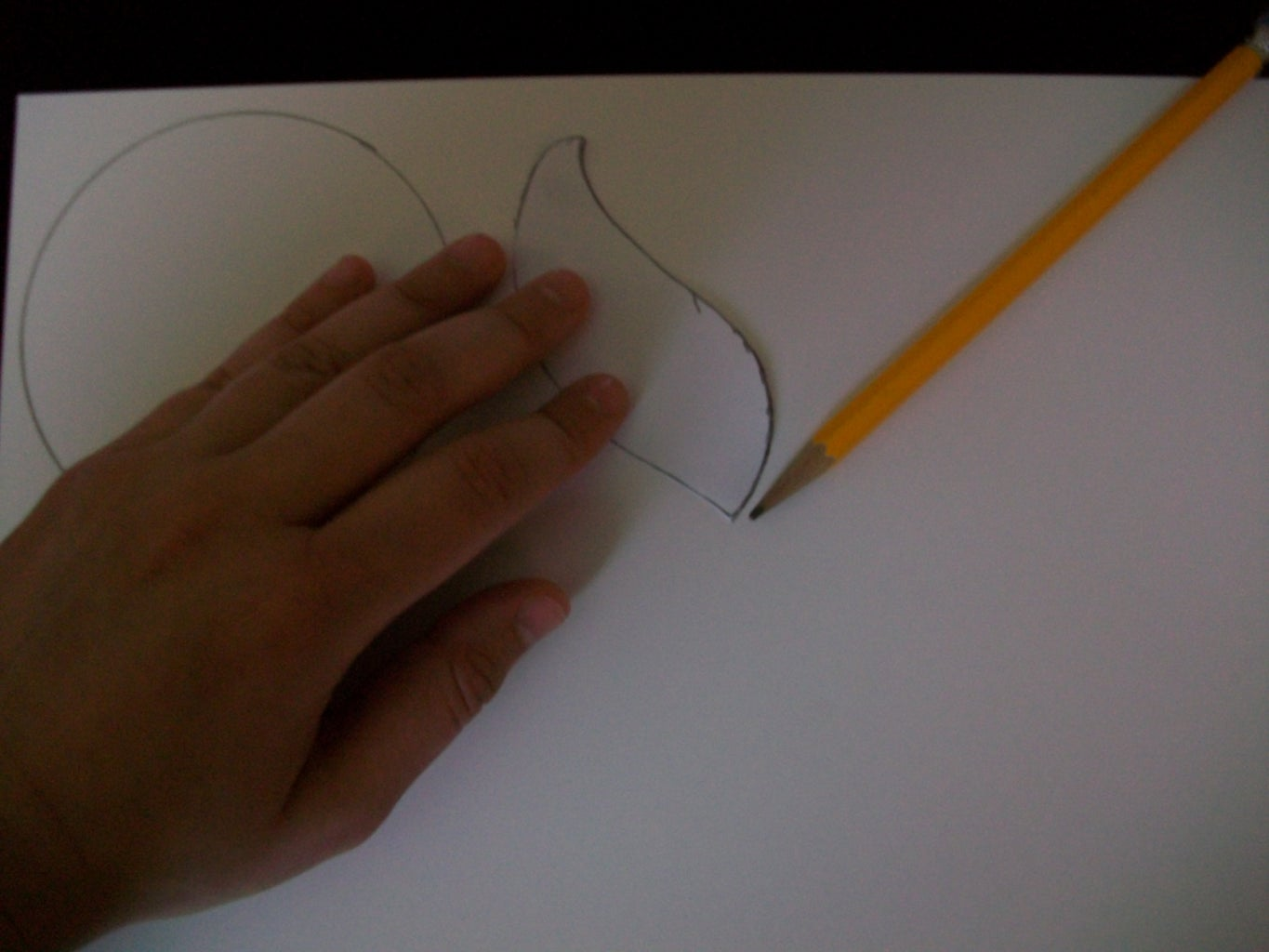 Step 1 - Tracing and Cutting
