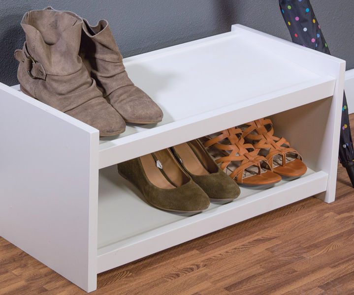 Easy-To-Build Shoe Organizer