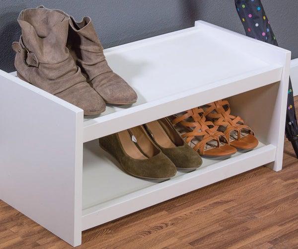 Easy-To-Build Shoe Organizer