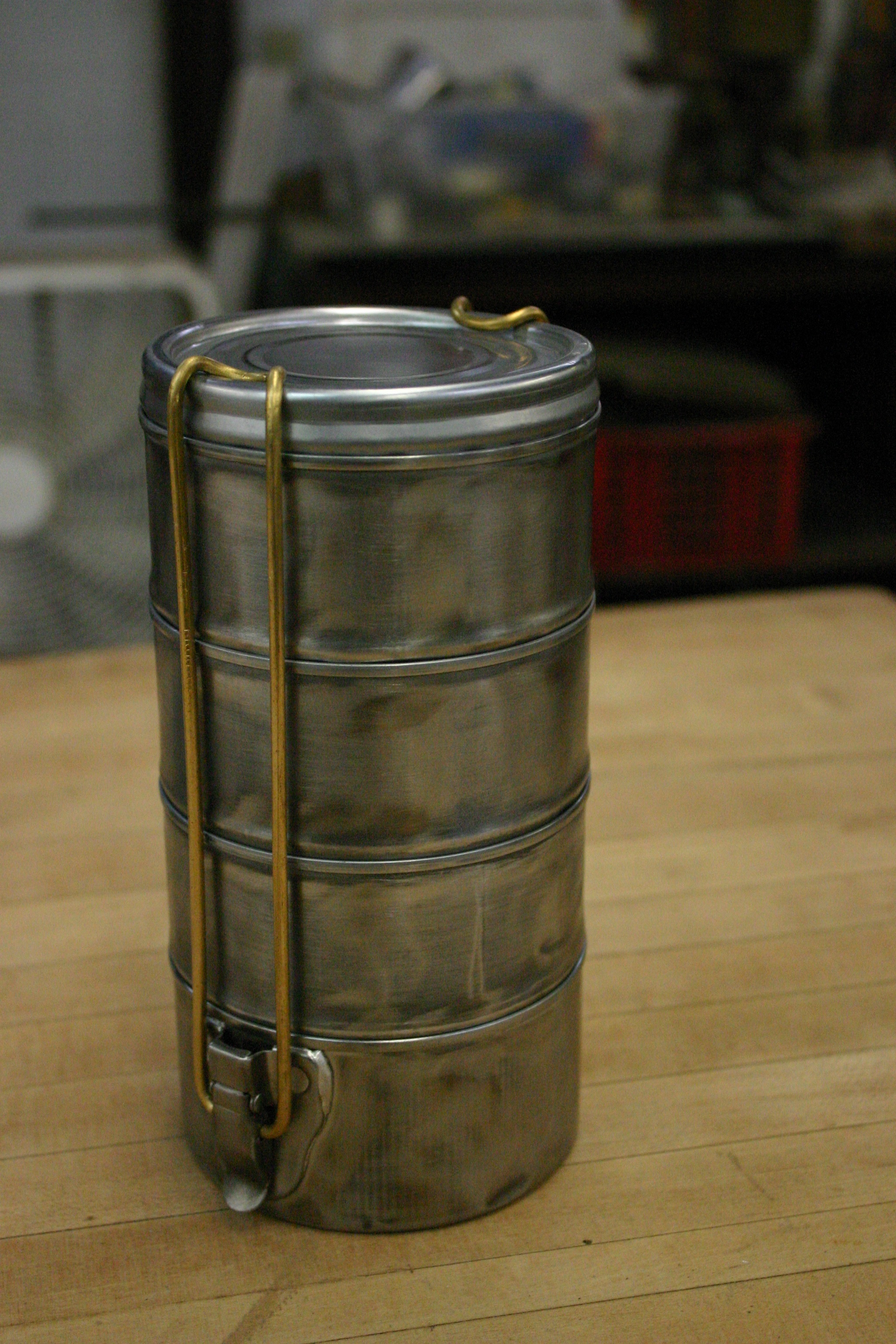 Tiffin Box from Tuna Cans