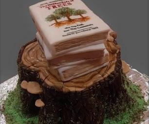 如何把蛋糕雕刻成任何东西!
