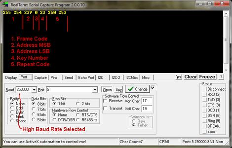 Host Interface Details