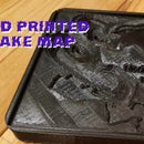 Topographical Lake 3D Print