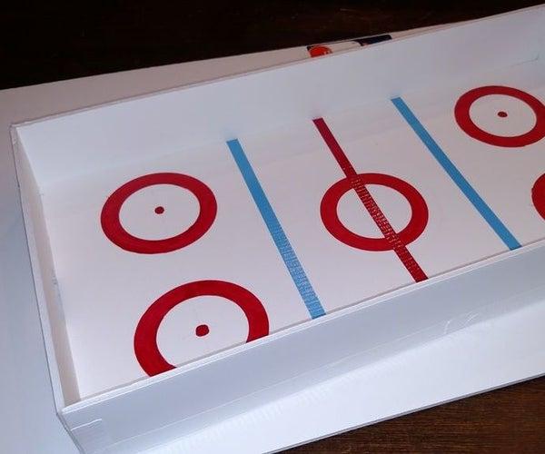 Table Top Hockey Rink - Craft