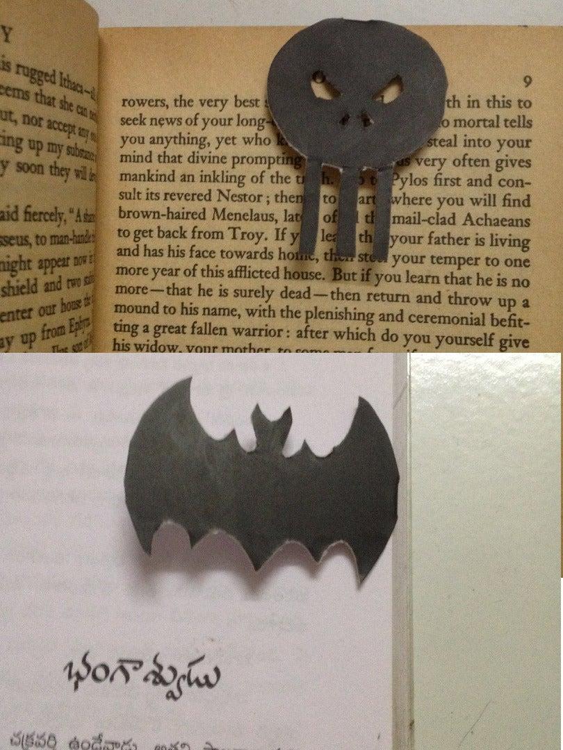 Super Hero Logo Bookmark