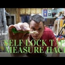 Self Lock Measuring Tape Hack
