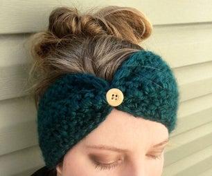 Easy Crochet Ear Warmer