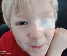 Easy Amblyopia Eye Patch - and Teaching Kids Money Saving
