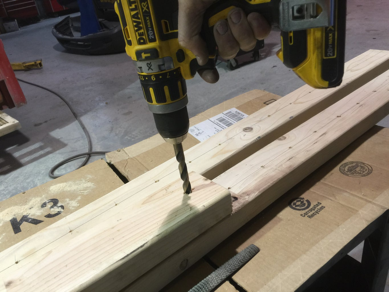 Building the Bed Frame