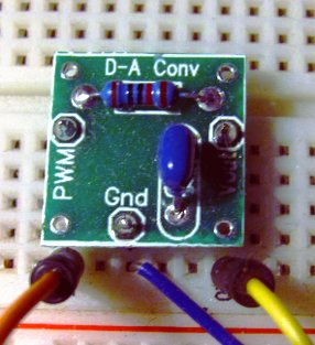 Analog Output - Convert PWM to Voltage