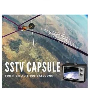 SSTV Capsule for High Altitude Balloons