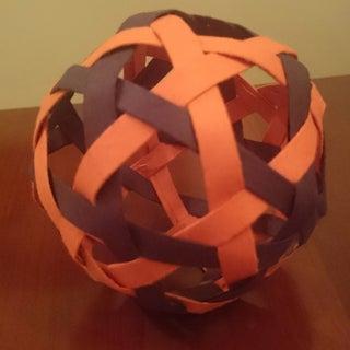 10 Strip Woven Ball