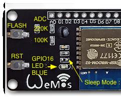 How to Use Wemos ESP-Wroom-02 D1 Mini WiFi Module ESP8266 + 18650 by Using Blynk