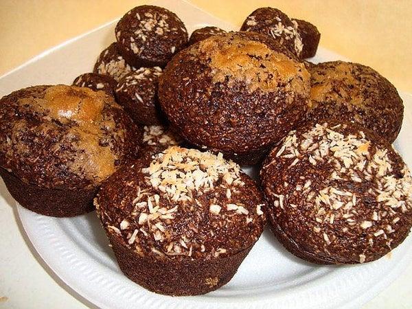 Emi's Chocolate Bran Muffins, Vegan