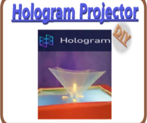 DIY Simple Hologram Projector