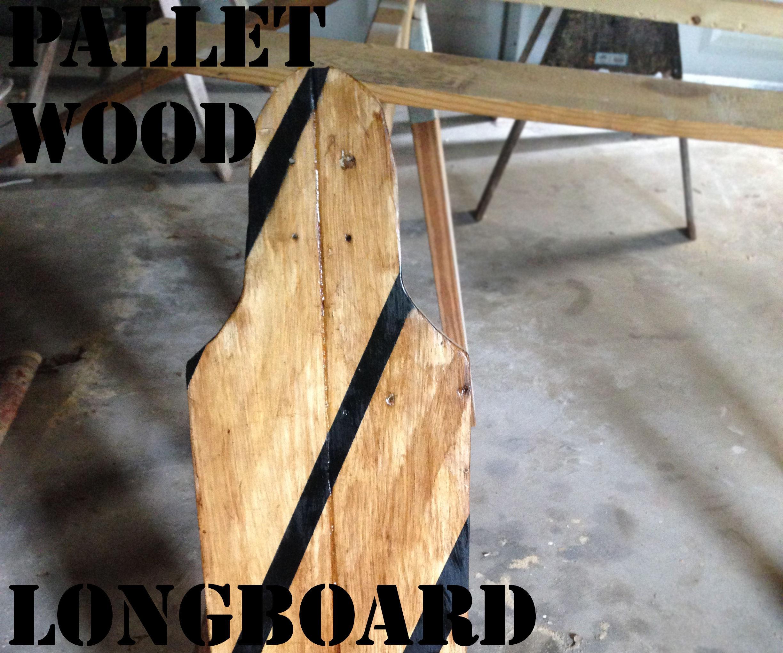 Pallet long board deck