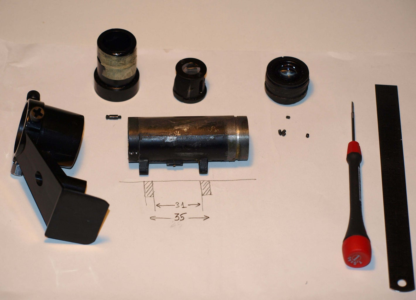 (2) Make a Finderscope Yourself