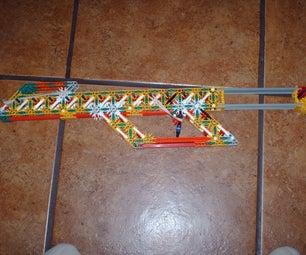 Modifications to Darth Gecko Mans Blazer V1 Sniper Rifle.