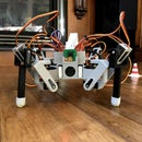 3D Printed Raspberry Pi Spider Robot Platform