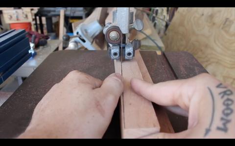 Cutting the Taper in the Legs