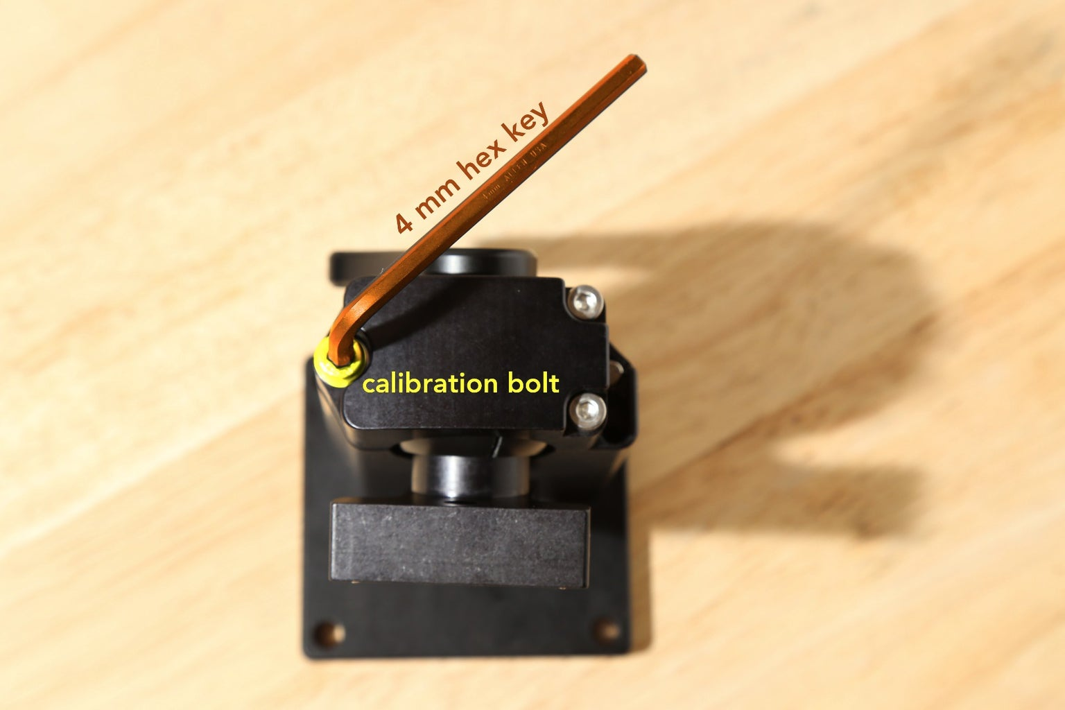 Degrees of Freedom and the Calibration Bolt