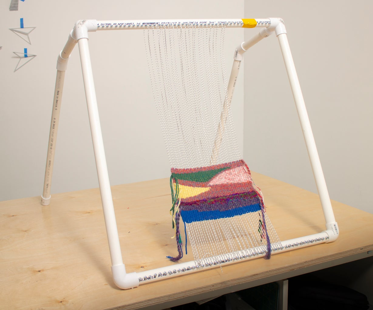 Make a Basic Loom With PVC Pipe