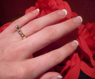 Do-it-yourself French Manicure
