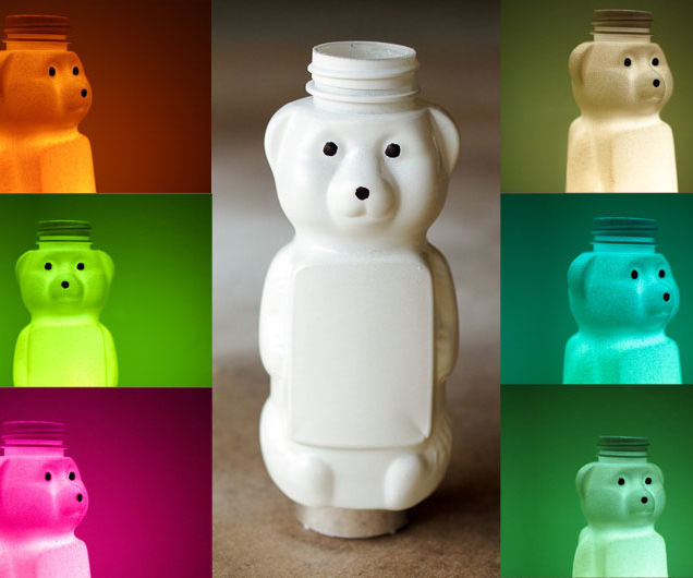 Gummy Bear Night Light with Color Changing LED