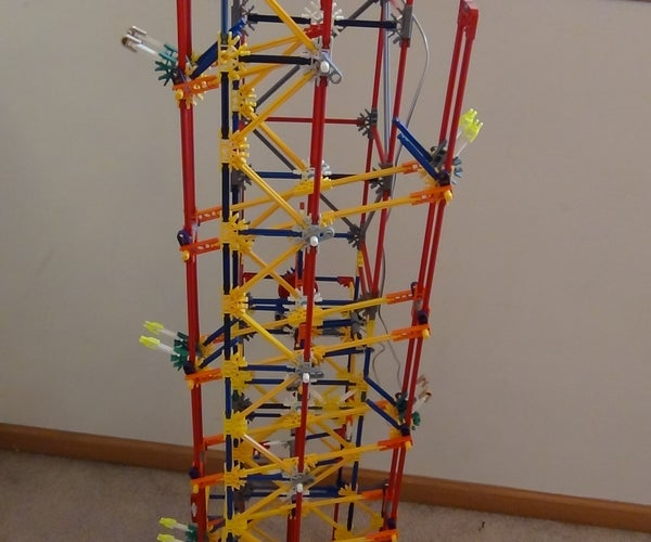 Knex Simple Modified Stepper Lift