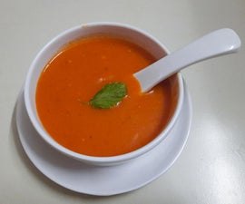 Easiest Tomato Soup