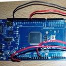 Arduino Mega 2560 based LDR Light Intensity Control