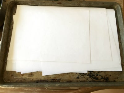 Mordant the Paper and Soak the Plant Materials