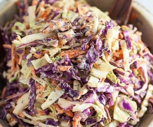 Light and Crunchy Coleslaw