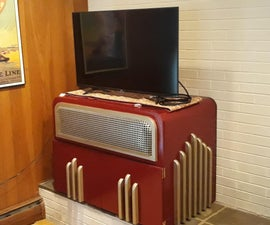 Jukebox TV Stand