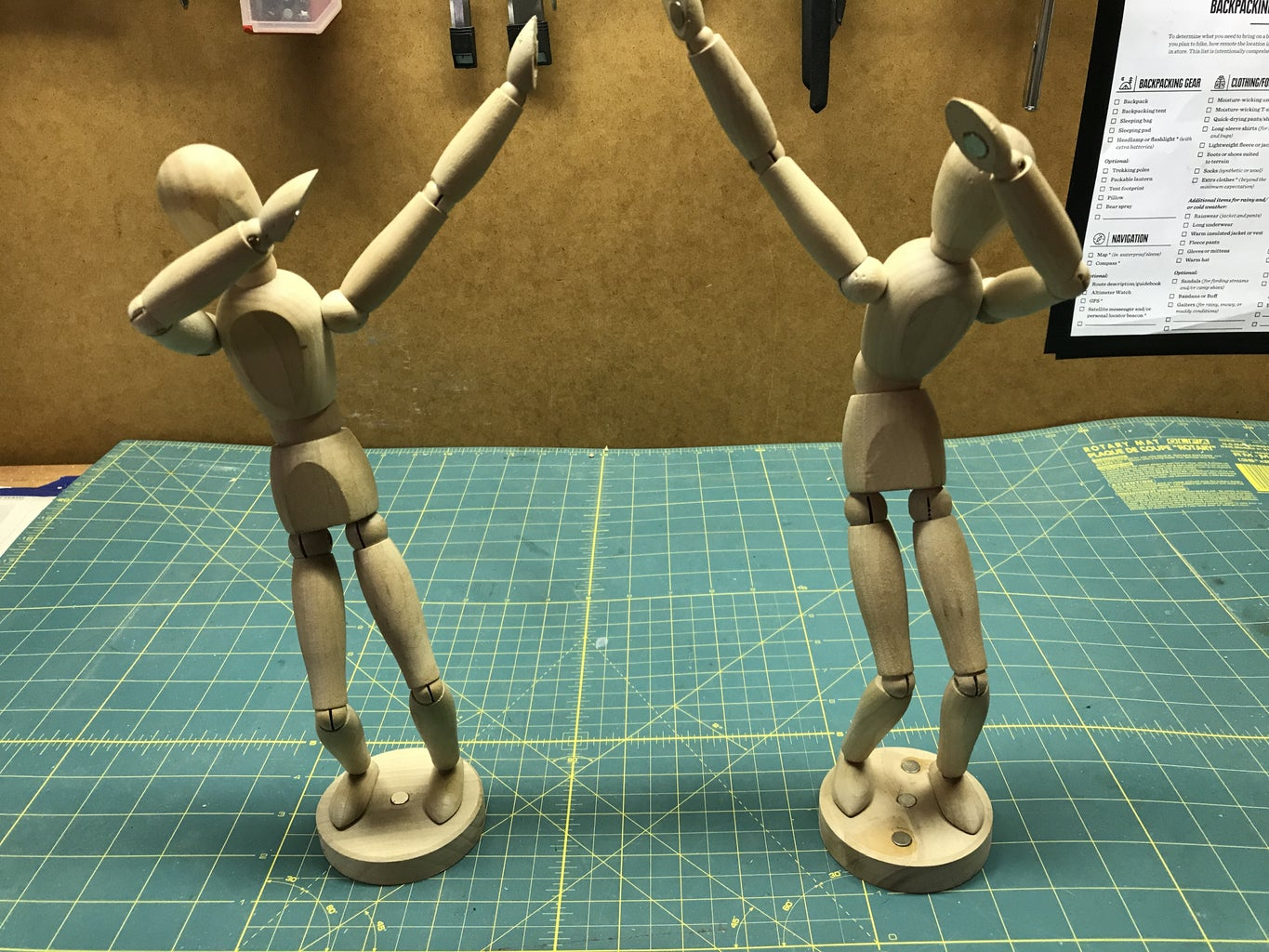 Have Fun With Your Magnetic Figure!