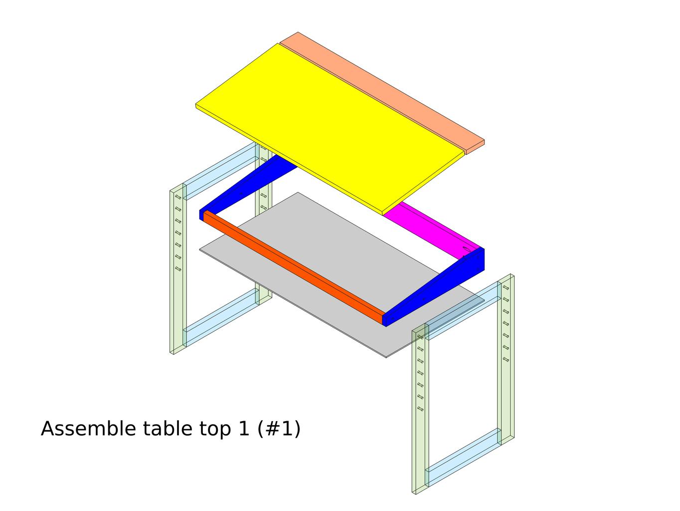 Add the Tilt Table Top