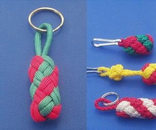 Candy Cane Twist Knot