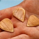 DIY Veneer Guitar Picks