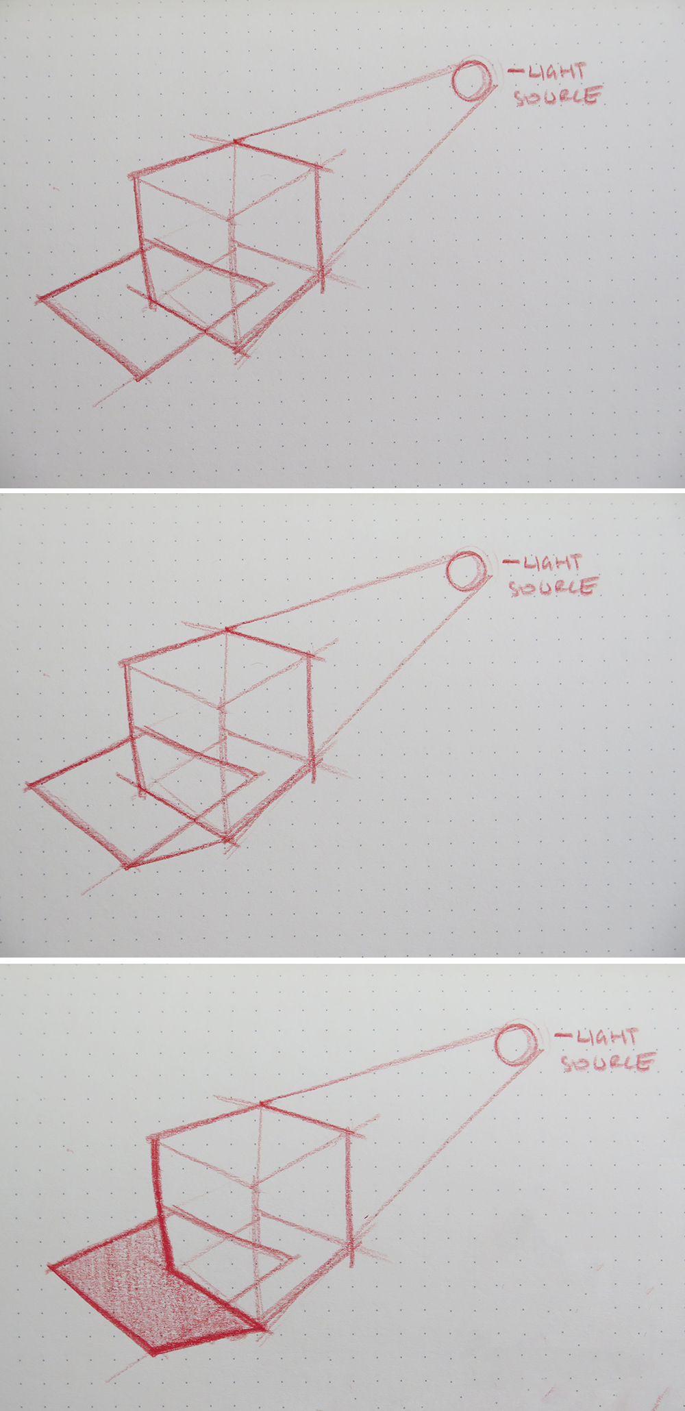 how to draw top down perspective on people