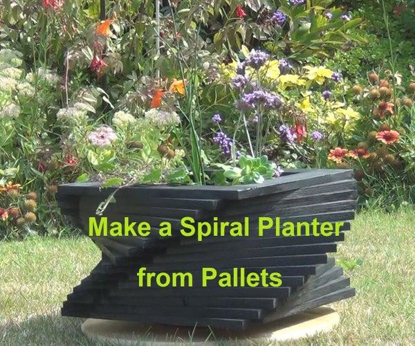 Spiral Garden Planter