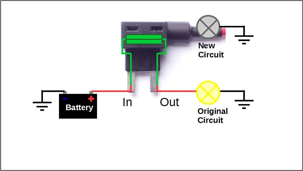 How to Add a Circuit to Your Car : 8 Steps (with Pictures) - Instructables | Add A Fuse Box |  | Instructables