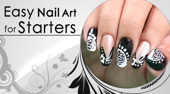 Easy Funky Nail Art