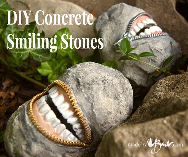 Concrete Smiling Stones
