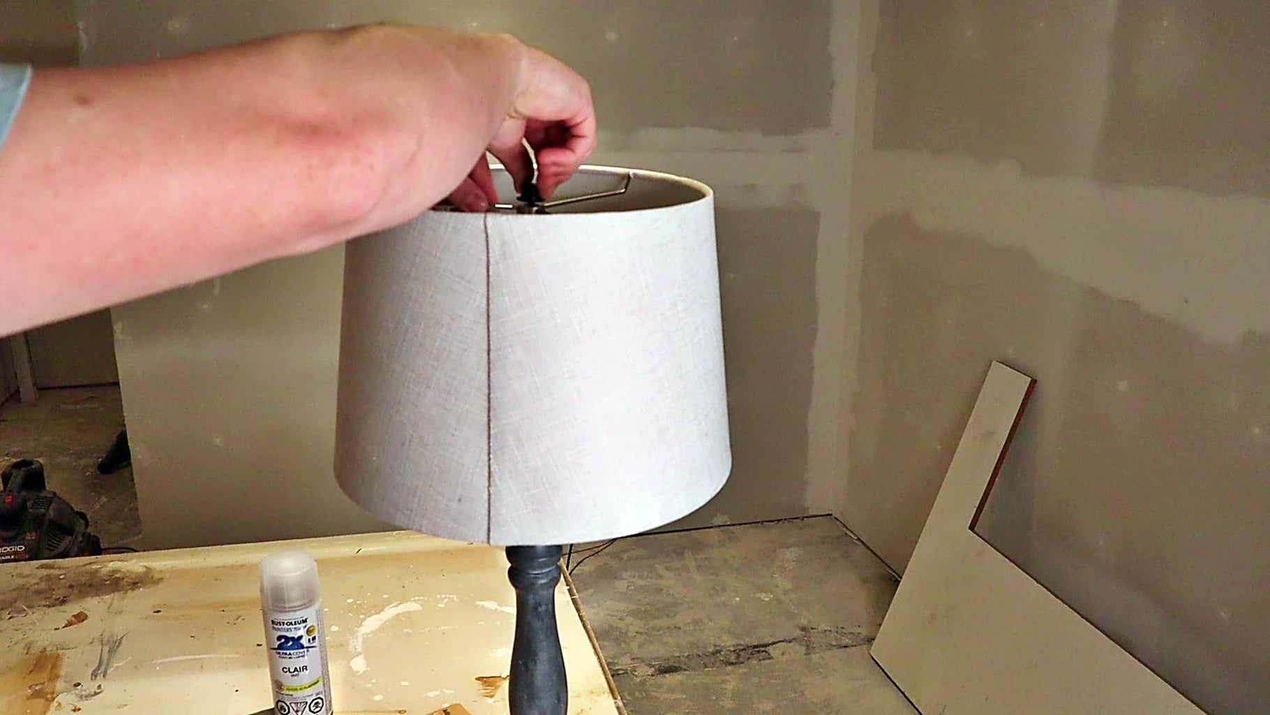 Making It a Lamp Finally!