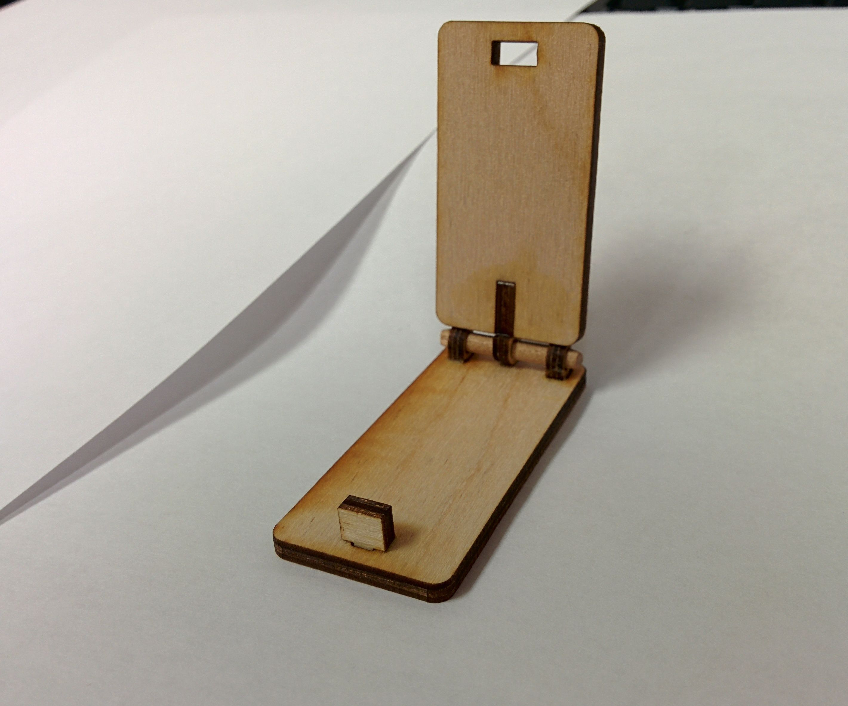 Pocketable Phone Stand