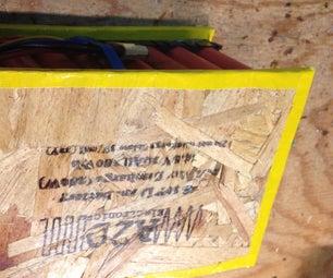 280Wh 4S 10P锂离子电池由回收的笔记本电池